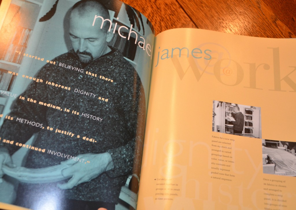 Michael James: Art and Inspiration