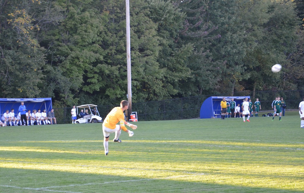 Ben , my goalie man in mid-air